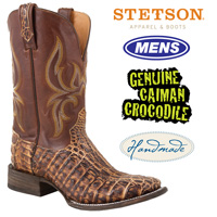 Stetson Sedona Caiman Boots