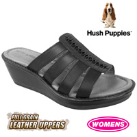 Hush Puppies Roux Sandals - Black