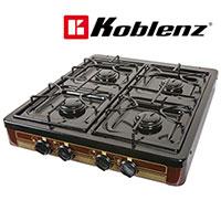Koblenz 4 Burner Stove