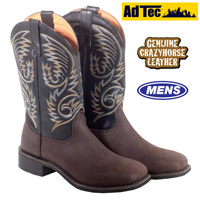 Ad Tec Western Boots