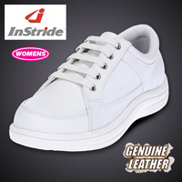 InStride Womens Courtside Shoes - White