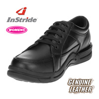 InStride Womens Courtside Shoes - Black