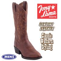 Tony Lama Rust Westby Boots