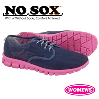 NoSox Womens Winkle Shoes