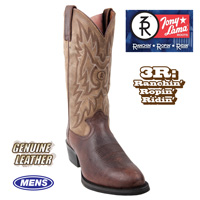 Tony Lama Walnut Westby Boot