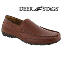 Mens Deer Stags Slip-Ons