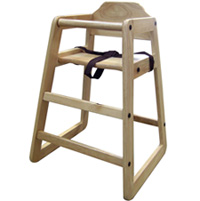 29 Inch Restaurant Style High Chair