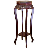 Cherry Flower Stand with Ceramic Top