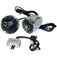Pyle Motorcycle Audio Speaker Package