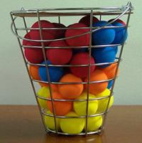 48 Piece Bucket of Foam Practice Balls