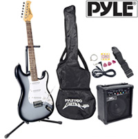 Electric Guitar Set-Silver