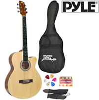 39in Acoustic Guitar w/Case