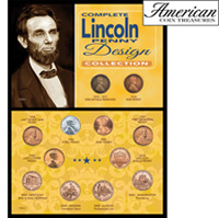 Complete Lincoln Penny Design Collection
