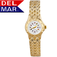 Del Mar® Ladies Nautical Dial Watch