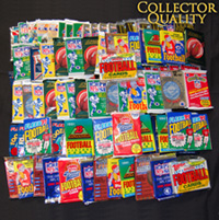 1500 Unsearched Football Cards
