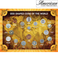 Odd Shaped Coins of the World