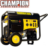 7500/9500 Watt Portable Gas Generator-CARB