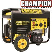 3500/4000 Watt Portable Gas Generator-CARB