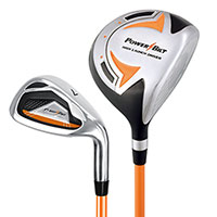 3-5 year old Powerbilt Jr. Golf Set - Orange