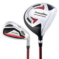12+ year old Powerbilt Jr. Golf Set - Red