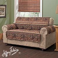 Loveseat Wild Horses Furniture Protector