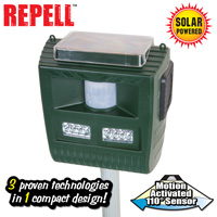 3-in-1 Solar Animal Repeller