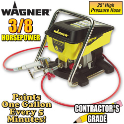 Wagner 3/ 8HP Paint Crew  Model# 0515000