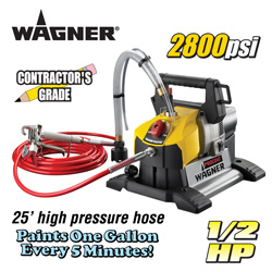 Wagner Pro-Coat Paint Sprayer&nbsp;&nbsp;Model#&nbsp;0515022T