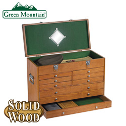 Wood Case Upper - Oak  Model# GJ-06001-2