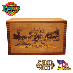 Wooden Ammo Box  Model# TC19-82