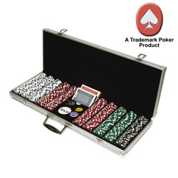 500 Dice Style Poker Chips  Model# 10-1090-500SQL