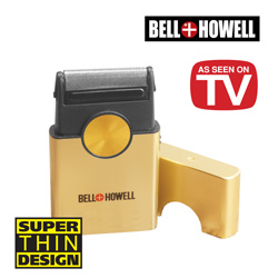 Bell And Howell Super Thin Shaver&nbsp;&nbsp;Model#&nbsp;7970-GOLD
