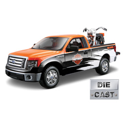 Diecast 1958 Harley/Ford F150 Set  Model# 32173