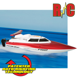 High Speed 2.4GHz R/C Boat  Model# FT007