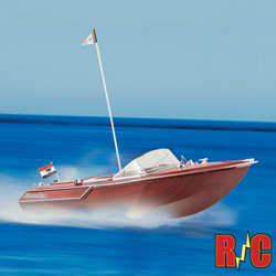 Classic R/C Speed Boat  Model# RS121-1