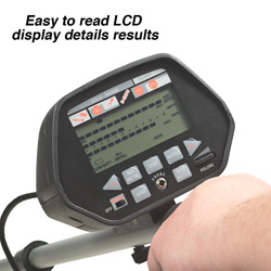 Metal Detector With LCD Display  Model# GC-1020