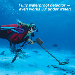 Gold Digger Submersible Metal Detector  Model# MD-3080