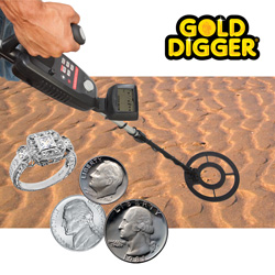 Advanced Metal Detector  Model# GC-1035