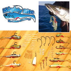 Mighty Bite Fishing Lures&nbsp;&nbsp;Model#&nbsp;FOFB-0003