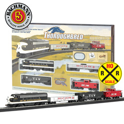 Thoroughbred Train Set&nbsp;&nbsp;Model#&nbsp;00691