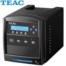 Teac 1:3 USB Flash Duplicator&nbsp;&nbsp;Model#&nbsp;USBDUPLICATOR/3