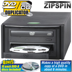 Zipspin DVD/ CD Master  Model# DVD MASTER