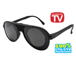 Aviator Dial-A-Vision Sunglasses&nbsp;&nbsp;Model#&nbsp;AVIATOR