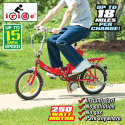 Iride Electric Folding Bike&nbsp;&nbsp;Model#&nbsp;D1601