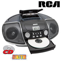 RCA Portable CD/Casette Player  Model# RCD175
