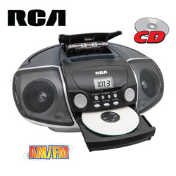 RCA Portable CD/Cassette Player&nbsp;&nbsp;Model#&nbsp;RCD175