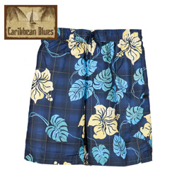 Tropical Print Swim Trunks  Model# 61681-269HL