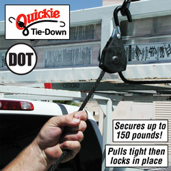 Quickie Tie Down - 2 Pack&nbsp;&nbsp;Model#&nbsp;QTD14-8TP
