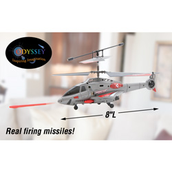 Odyssey R/C Shooting Helicopter  Model# ODY-343
