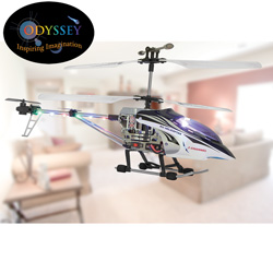 R/C Helicopter - Blue  Model# ODY-333B